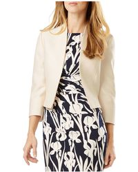 Phase Eight Ellie Open Jacket - Natural