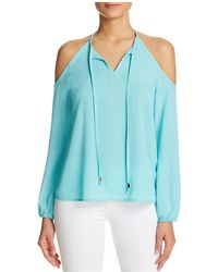 Macbeth Collection - Cold Shoulder Tassel Top - Compare At $62 - Lyst