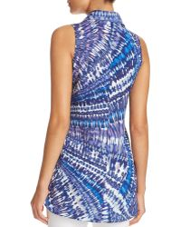 Sioni | Tie-dye Sleeveless High/low Shirt - Compare At $58 | Lyst