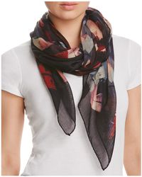 Lafayette 148 New York - Abstract Print Scarf - Lyst