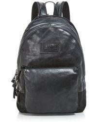 John Varvatos - Gibson Double Zip Backpack - Lyst