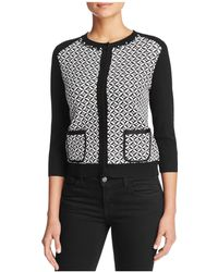 Finity - Jacquard Jumper Jacket - Lyst