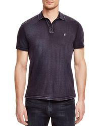 John Varvatos Peace Slim Fit Polo Shirt - Blue