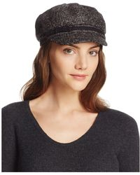 August Accessories - Marled Knit Newsboy Hat - Lyst