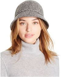 August Accessories - Festive Folk Marled Knit Cloche Hat - Lyst