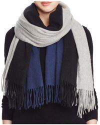 Donni Charm - Tricolor Wool Scarf - Lyst