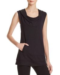 Zobha - Dakota Sleeveless Hoodie - Compare At $79 - Lyst