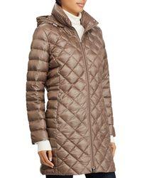 Ralph Lauren - Lauren Packable Down Coat - Lyst
