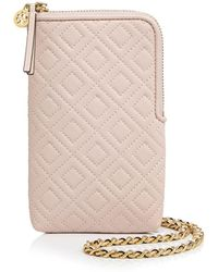 Tory Burch - Fleming Phone Crossbody - Lyst