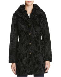 Laundry by Shelli Segal - Reversible Persian Faux Lamb Fur Coat - Lyst