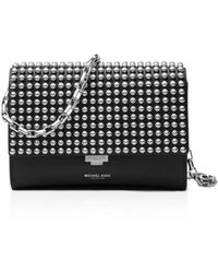 Michael Kors - Collection Small Yasmeen Studded Clutch - Lyst