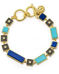 Freida Rothman - Brick Toggle Bracelet - Lyst