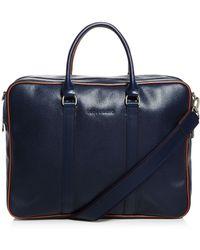 Longchamp Le Foul Bicolor Briefcase - Blue