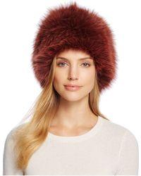 Loeffler Randall - Textured Hat - Lyst