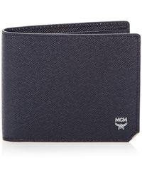 MCM New Bric Wallet - Blue