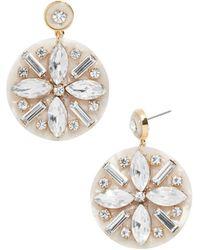 BaubleBar - Safiya Crystal Drop Earrings - Lyst