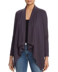 B Collection By Bobeau - Amie Draped Open Cardigan - Lyst