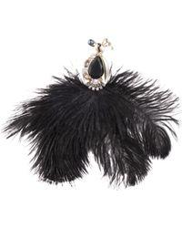 Carolee - Feather Bird Pin - Lyst