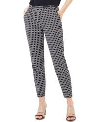 Phase Eight Alice Circle Print Pants - Black