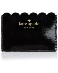 Kate Spade Lily Avenue Patent Card Case - Black