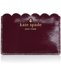 Kate Spade Lily Avenue Patent Card Case - Purple