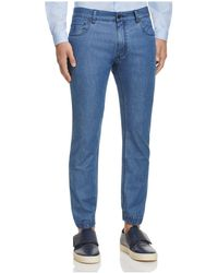 Z Zegna - Superlight Denim Jeans In Light Blue - Lyst