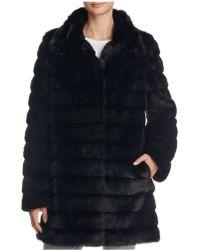 Anne Klein - Faux Fur Coat - Compare At $320 - Lyst