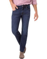Liverpool Jeans Company - Regent Relaxed Fit Jeans In Norcross Dark - Lyst