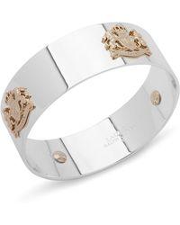Ralph Lauren - Lauren Multiple Logo Crest Bangle Bracelet - Lyst