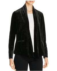 B Collection By Bobeau - Isabeli Velvet Jacket - Lyst
