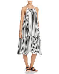 MINKPINK Rivera Getaway Dress Swim Cover-up - Black