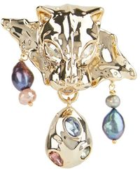 Alexis Bittar Cultured Freshwater Pearl - Multicolour