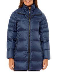 Vince Camuto Packable Down Coat - Blue