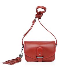 Joe's - Berkely Small Leather Saddle Bag - Lyst