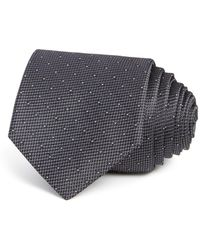 W.r.k. - Textured Dot Classic Tie - Lyst