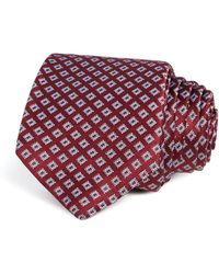 W.r.k. - Textured Square Classic Tie - Lyst
