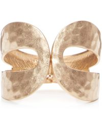 Catherine Malandrino - Wide Hinged Cuff Bracelet - Compare At $58 - Lyst