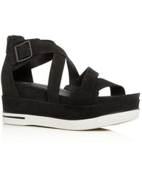 Eileen Fisher Boost Wedge Sandal - Black
