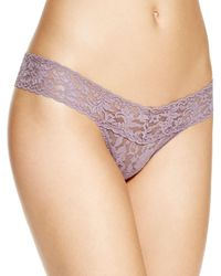 Hanky Panky - Low - Rise Thong - Lyst