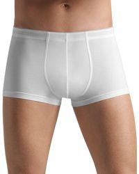 Hanro - Cotton Superior Boxer Briefs - Lyst