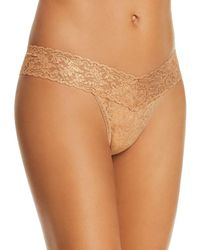 Hanky Panky - Stardust Shimmer Low-rise Thong - Lyst