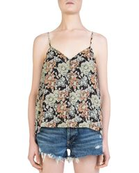 The Kooples - Wanted Floral-print Cami - Lyst