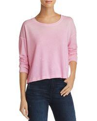 Sundry - Splatter-print Sweatshirt - Lyst