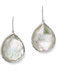 Ippolita - Sterling Silver Wonderland Teardrop In Mother-of-pearl Earrings - Lyst