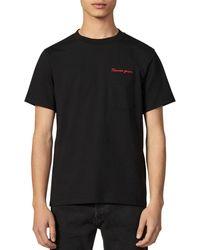 Sandro - Garçon Embroidered T-shirt - Lyst