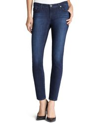 AG Jeans - Legging Ankle Jeans In Coal Gray - Lyst