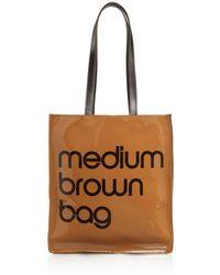 Bloomingdale's Medium Brown Bag