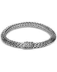 John Hardy - Men's Tiga Classic Chain Sterling Silver Bracelet Size S - Lyst