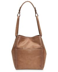Frye Reed Hobo - Brown