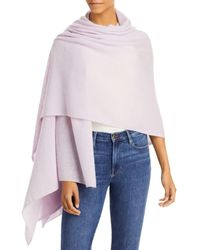 C By Bloomingdale's Cashmere Travel Wrap - Multicolor